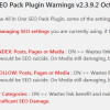 All In One SEO Plugin Noindex SEO Damage
