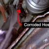 How to Replace the High Pressure Power Steering Hose on an Hyundai Getz