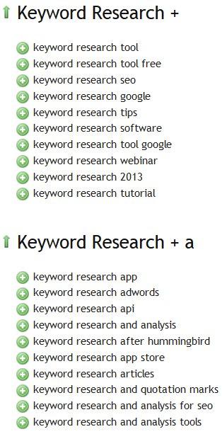 Übersuggest Keyword Research Tool