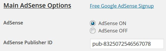 AdSense Publisher ID