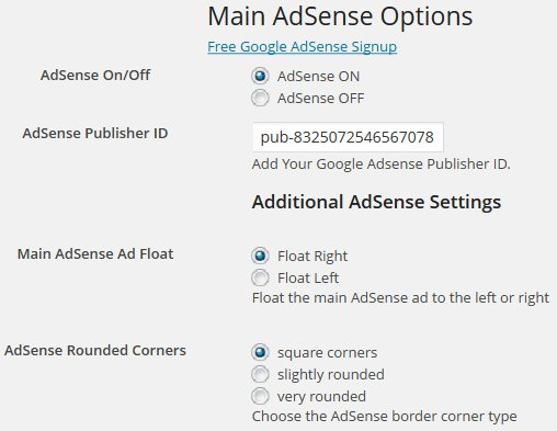 Talian AdSense WordPress Theme