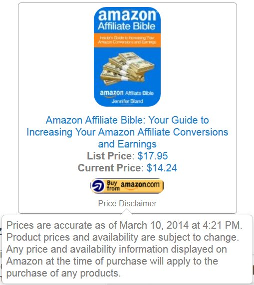 Amazon Affiliate Ads