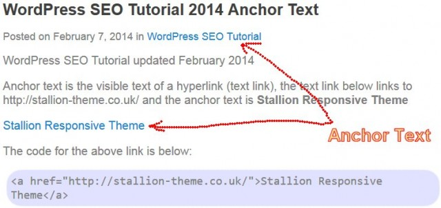Example Anchor Text