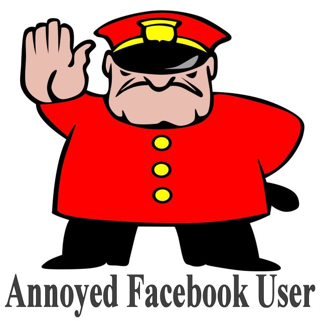 Annoyed Facebook User