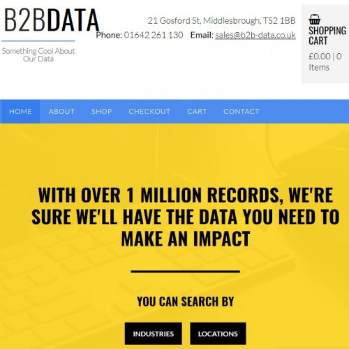 B2B Data Review