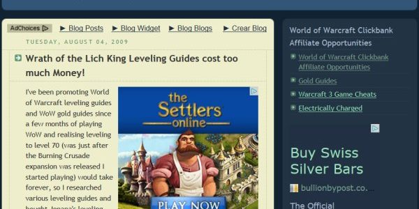 Free Blogger AdSense Template