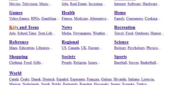 DMOZ Link Directory