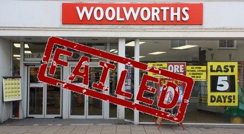 Failed Business Model