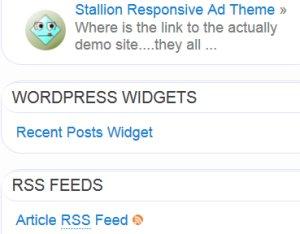 Flexible Posts Widget