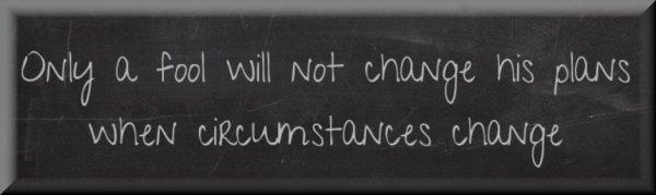 Good Business Plans Change
