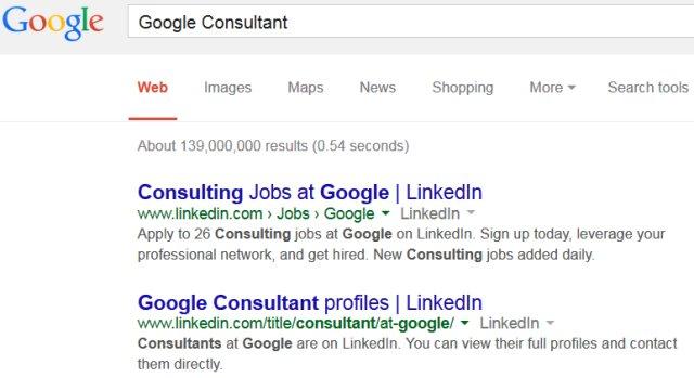 Google Consultant