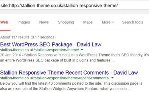 Google Indexed