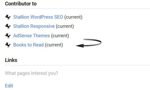 Google+ Contributor Links