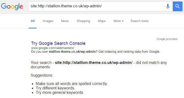 Google Site Search Your Search Did Not Match Any Documents
