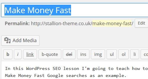 Make Fast Money
