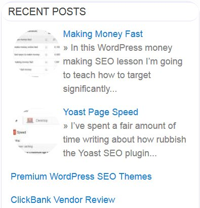 Making Money Fast SERP