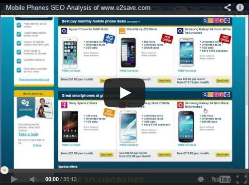 Mobile Phones SEO Analysis