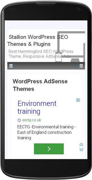 Mobile Responsive AdSense