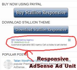 AdSense Responsive Design