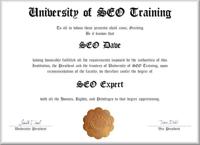 SEO Expert Consultant