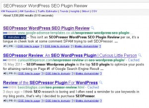 SEOPressor WordPress SEO Plugin Review