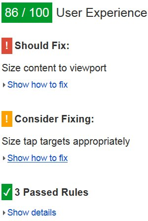 Size Tap Targets Appropriately