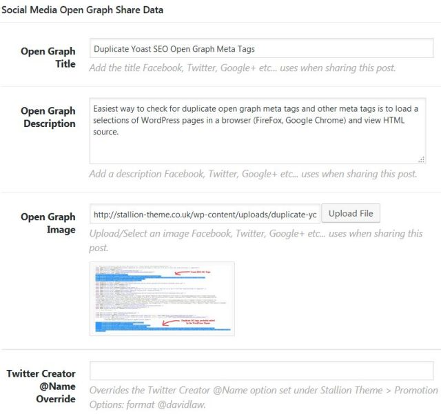 Stallion Responsive Theme Open Graph Meta Tags