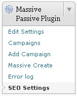Massive Passive Profits Plugin SEO Settings