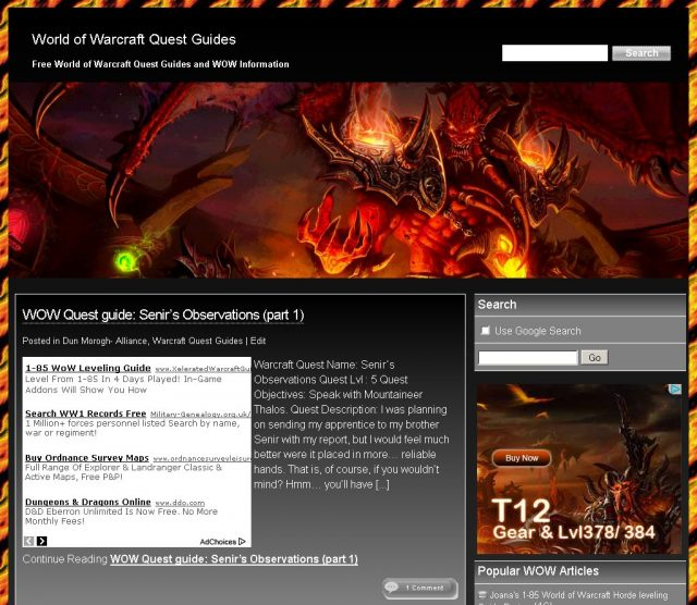 WordPress SEO Black Stallion Theme