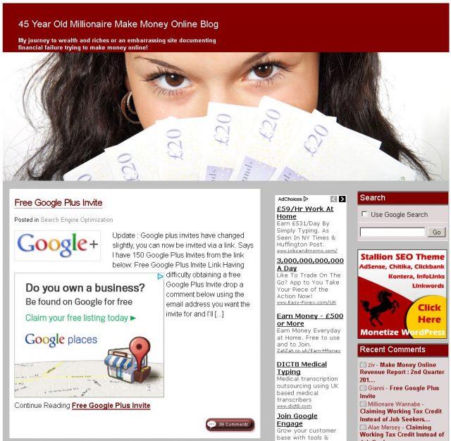 Stallion WordPress SEO Theme Red Color