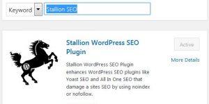 Stallion WordPress SEO Plugin
