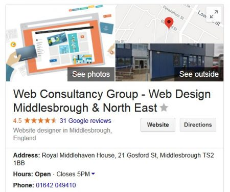 Web Consultancy Group Reviews