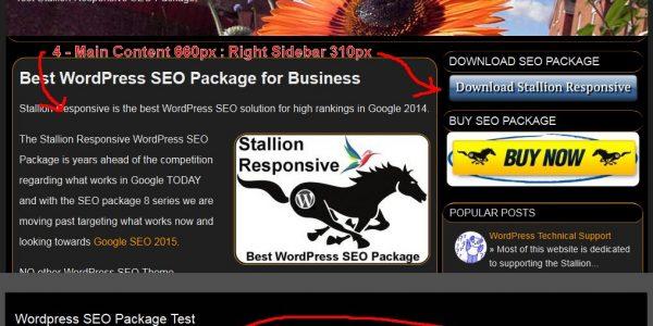 WordPress 2 Column Layouts