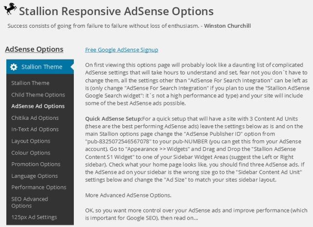 WordPress AdSense Theme