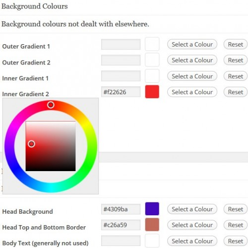 WordPress Color Change