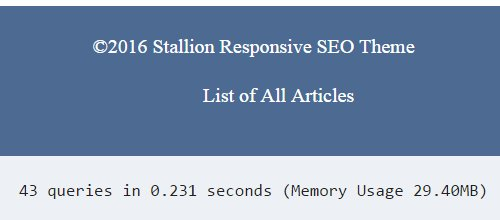 WordPress Database Queries