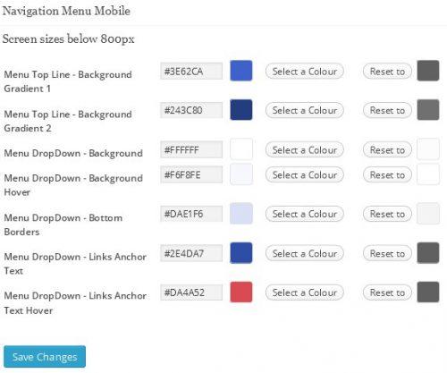 WordPress CSS Color Scheme Creator