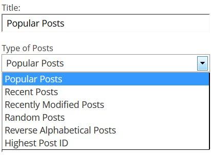 Responsive WordPress SEO Posts Widget