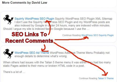 WordPress Recent Comments