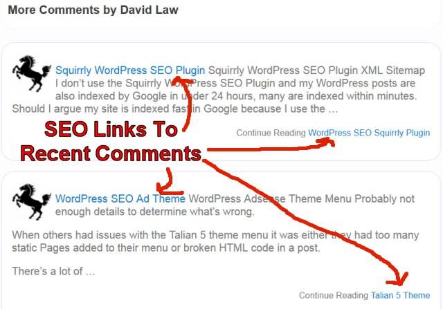 WordPress Recent Comments