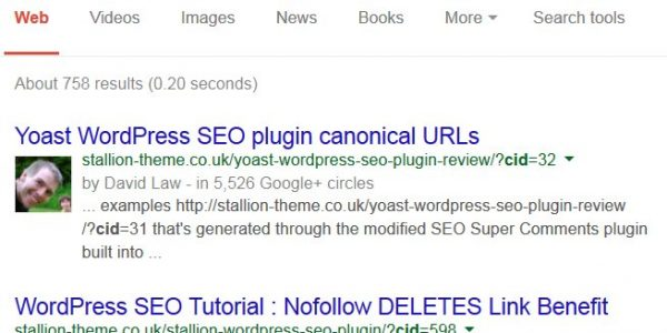 WordPress SEO Comments Plugin