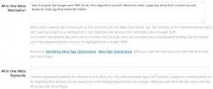 WordPress SEO Meta Tags