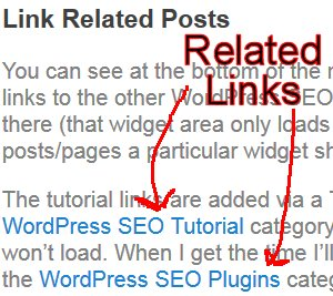 WordPress SEO Related Posts