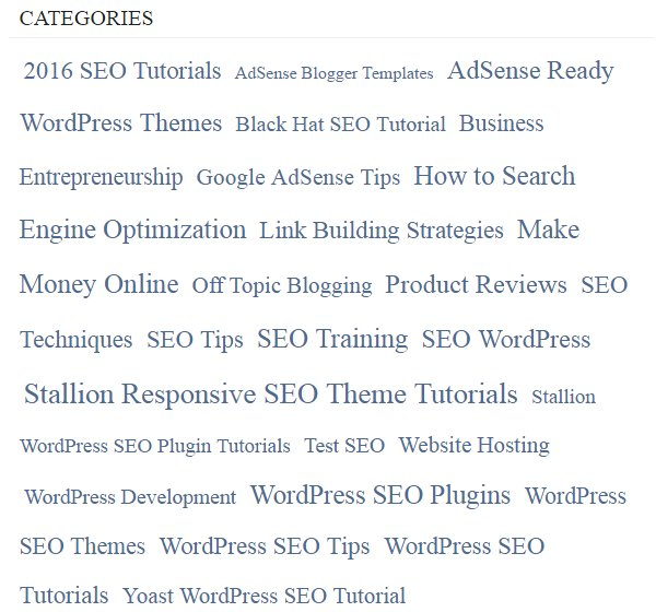 WordPress SEO Tutorial Category Archives