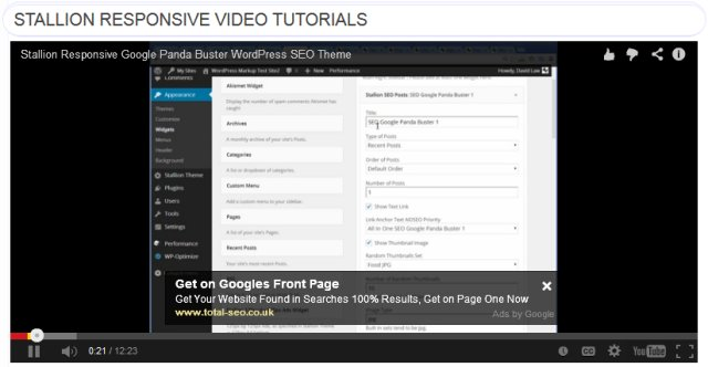 Image Result For WordPress Tutorials On Getresponse Youtube Video