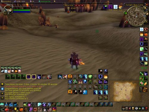 World of Warcraft Screenshot at level 59